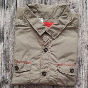 Quechua Beige UV Protect Quick Dry Shirt S